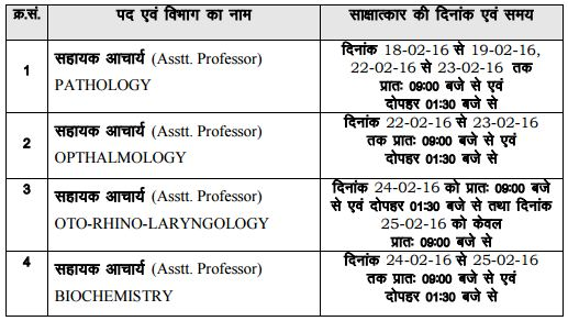 image : RPSC Interview Schedule 2016 - Assistant Professor-2014 @ TeachMatters