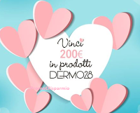 Logo Dermo28 #28voltetiamo: vinci gratis 200€ in prodotti