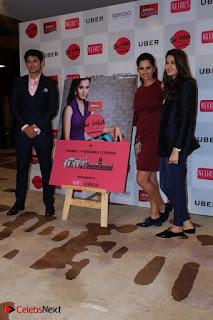 Indian Tennis Star Sania Mirza Pos in Red Short Dress at  0016.jpg