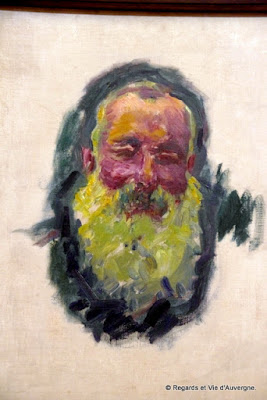 Autoportrait : Claude Monet