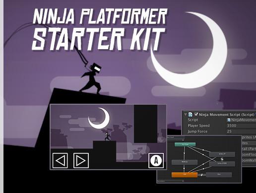 Ninja Platform Starter Kit - Unity Asset free download Ninja-platformer-starter-kit