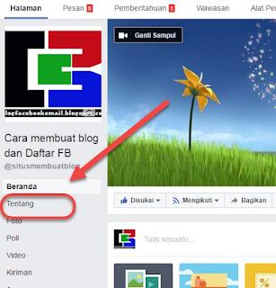 cara mengganti nama penguna URL halaman facebook