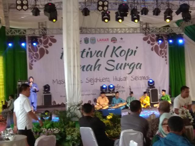 WWF Indonesia Gelar Festival Kopi Pusako Tanah Surga di Kerinci