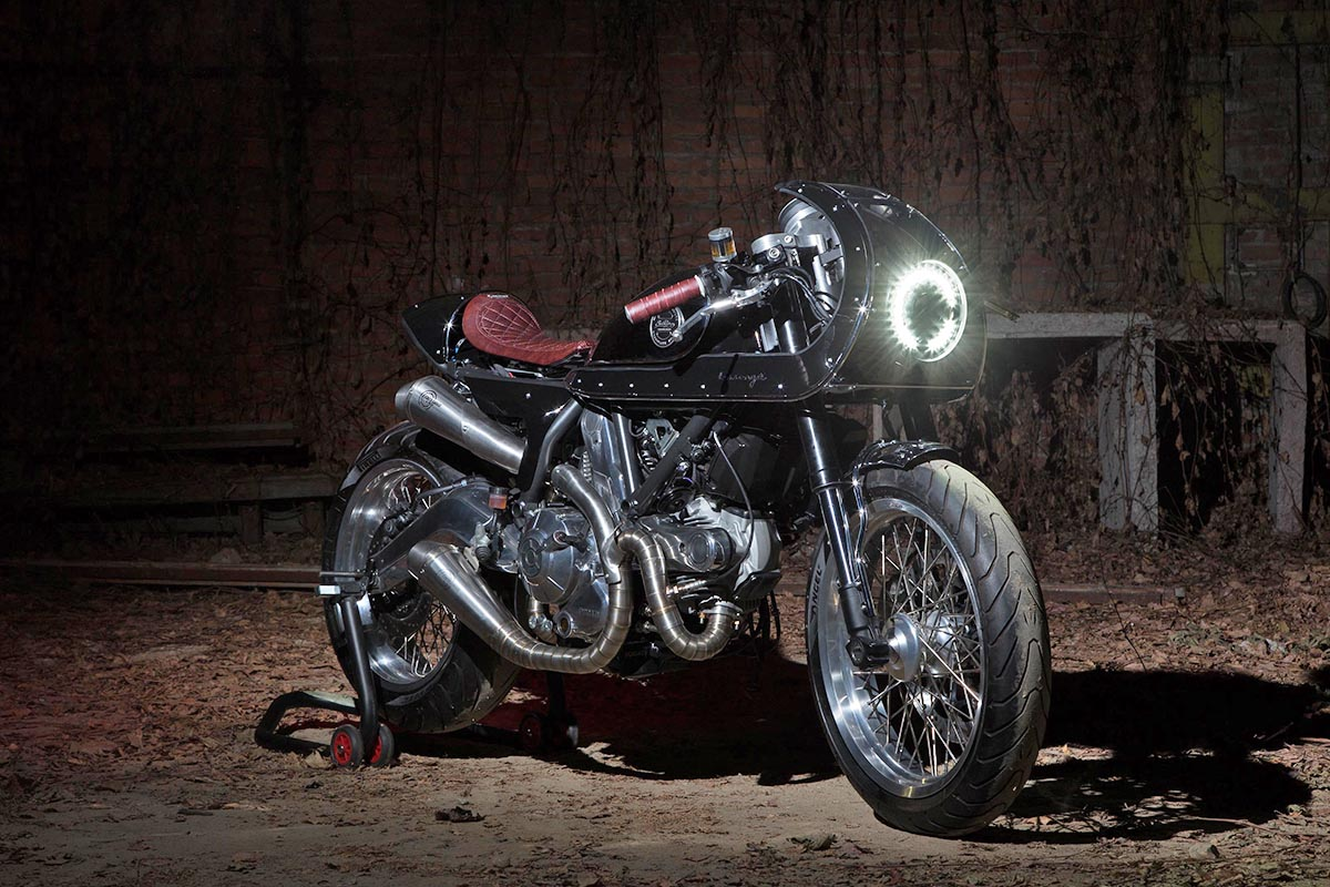 Mixed Message - South Garage Essence Cafe Racer