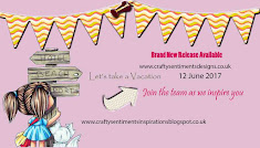 Crafty Sentiments Designs June New Release
