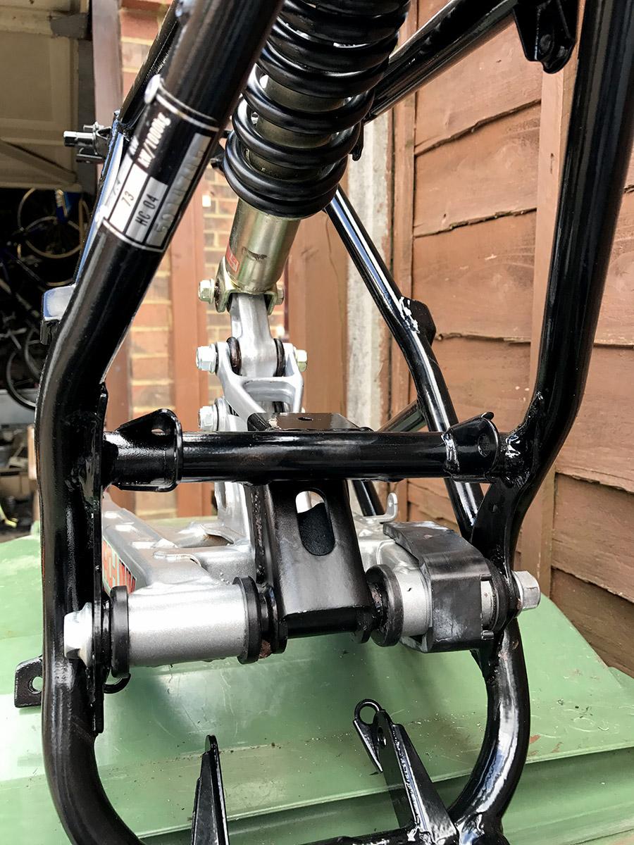 Rear Suspension Assy : Honda mbx my bike rear suspension assembly