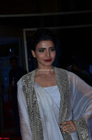 Samantha Ruth Prabhu cute in Lace Border Anarkali Dress with Koti at 64th Jio Filmfare Awards South ~  Exclusive 054.JPG