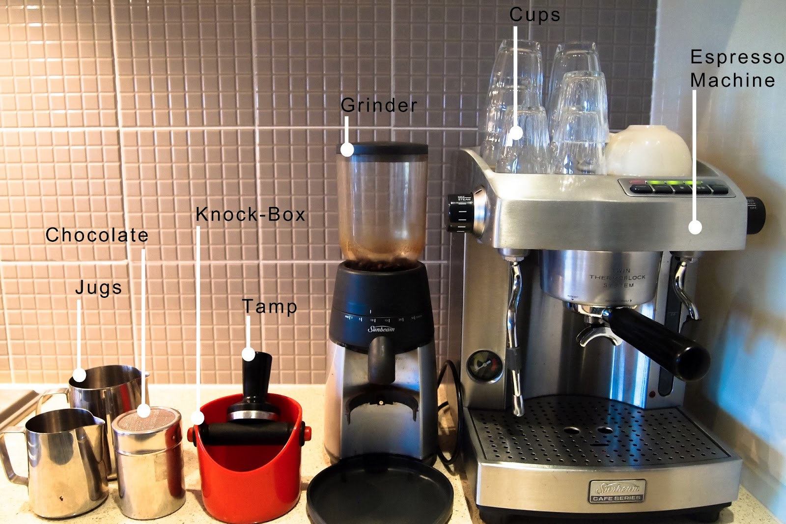 latte machine