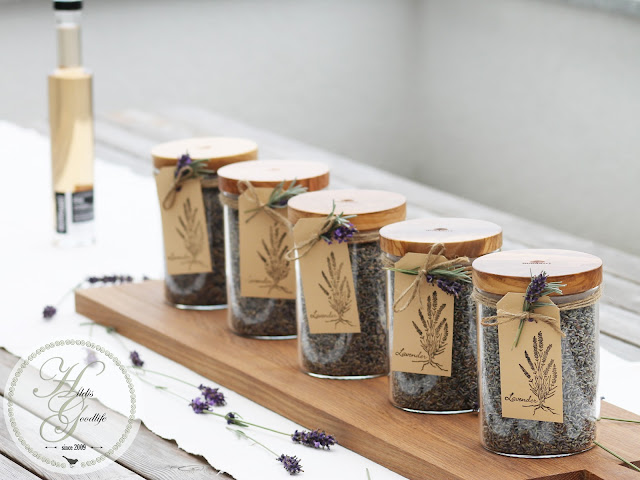 Lavender in Jars