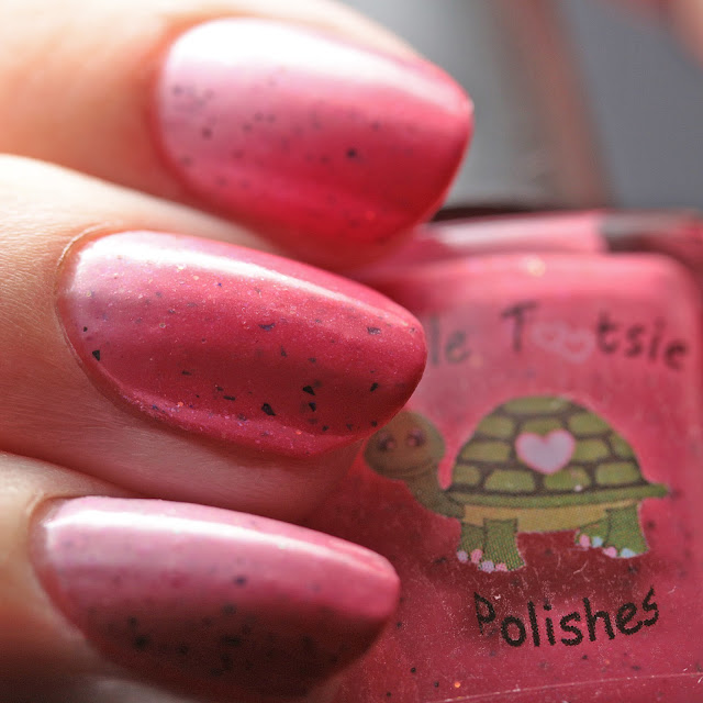 Turtle Tootsie Polishes Pink Velvet Cake