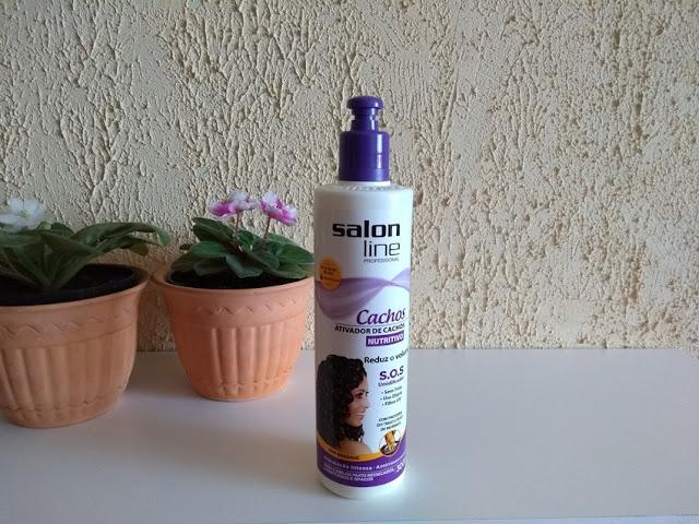 Resenha: Ativador de Cachos Nutritivo - Salon Line