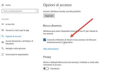 opzioni-accesso