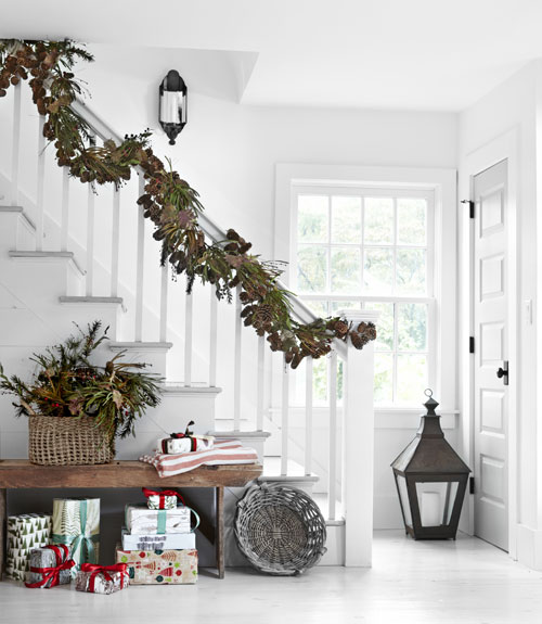 Garland Home Decor: Haven And Home: White Christmas