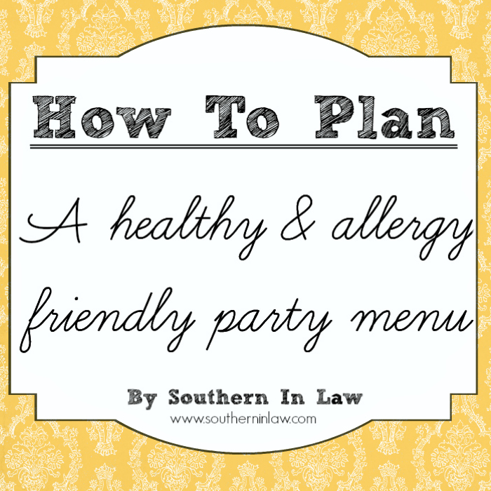 Southern In Law: How To Plan A Healthy Party! Our Wedding