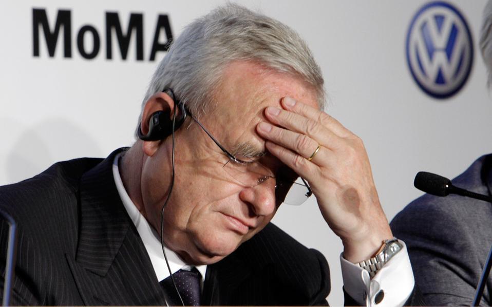 winterkorn Ο, πρώην πλέον, CEO της Volskwagen, οι σχέσεις με τη Μέρκελ και η παραίτηση Martin Winterkorn, Merkel, VW, vw σκάνδαλο
