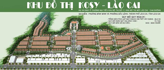 Phối cảnh dự án KOSY Lào Cai