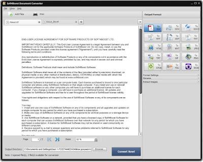 برنامج تحويل الملفات الى عدة صيغ Soft4Boost Document Converter
