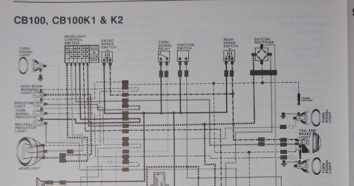 Honda Ss50 Wiring Diagram 3 Switch One Light R4l: Cb100