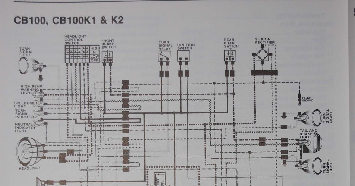 Honda Dream Wiring Diagram R4l Cb100 Wiring Diagram
