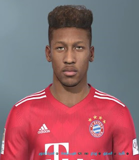 PES 2019 Faces Kingsley Coman by Shenawy