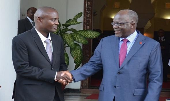Mrisho Gambo na Rais Magufuli