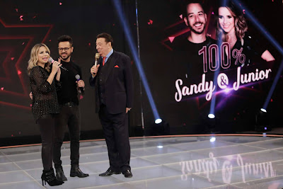 Duplas que se apresentam no 100% Sandy & Junior (Foto: Rodrigo Belentani)