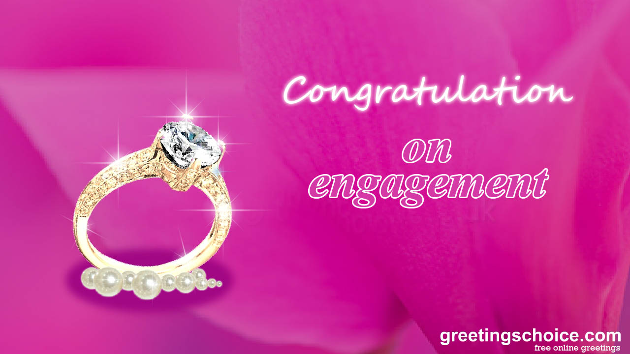free wallpaper: Congratulation On Engagement wallpaper