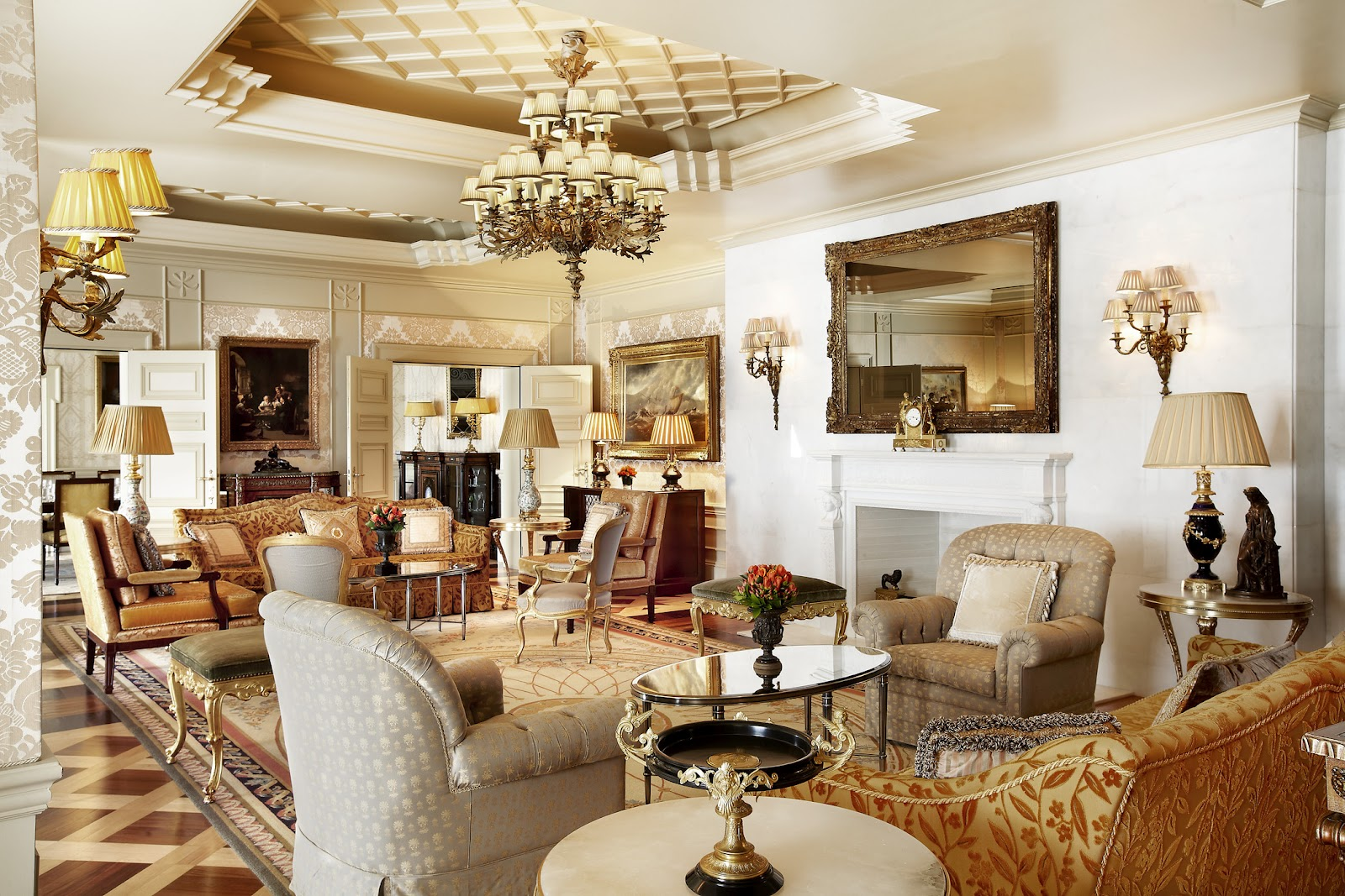 Luxury Living Room Passion For Luxury Hotel Grande Bretagne Athens