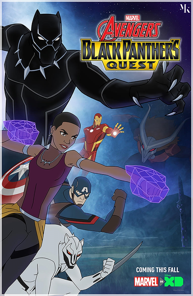 AVENGERS ASSEMBLE SEASON-5 | BLACK PANTHER'S QUEST (2018