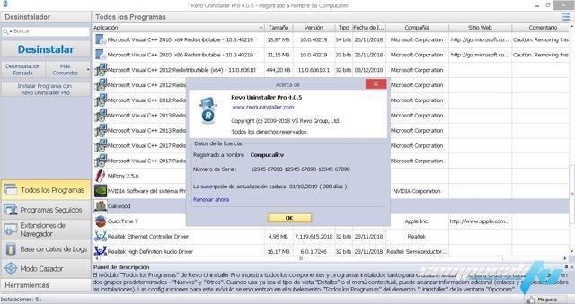 Revo Uninstaller Professional v4.0.5 Español Final