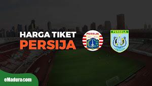 Ini Harga Tiket Persija vs Persela Lamongan, 20 November 2018