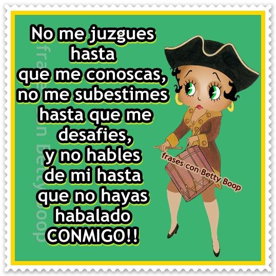 Mensajes De Betty Boop Para Facebook Imagui