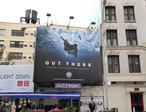 Out There film billboard NYC