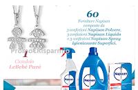 Logo Concorso LeBebé: vinci 60 forniture Napisan o ciondolo