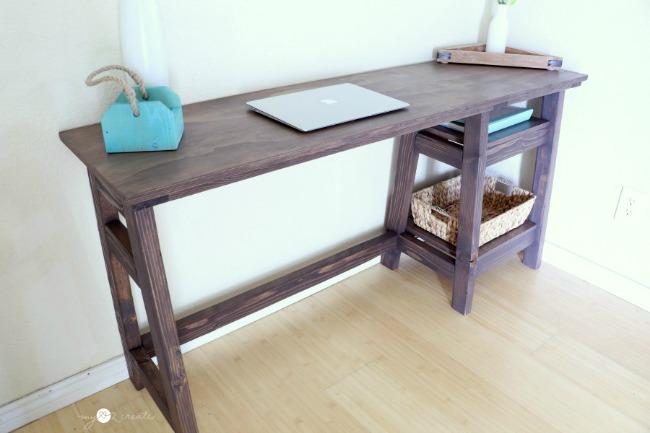 DIY A-Frame Desk | My Love 2 Create