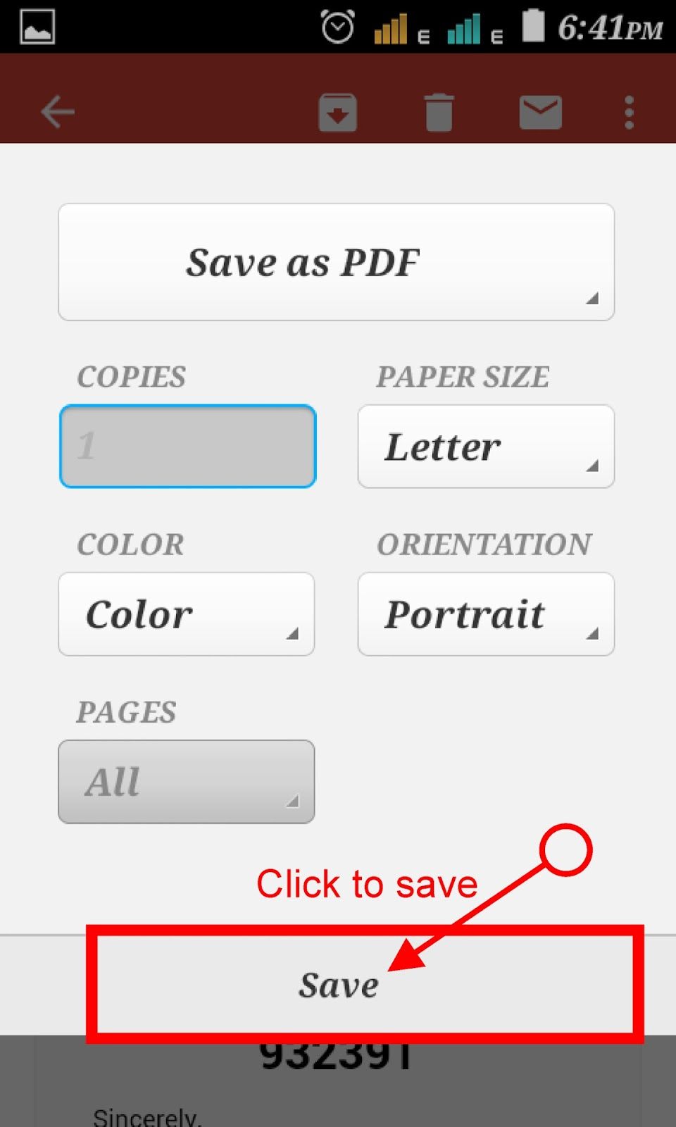 how to create pdf file in mobile