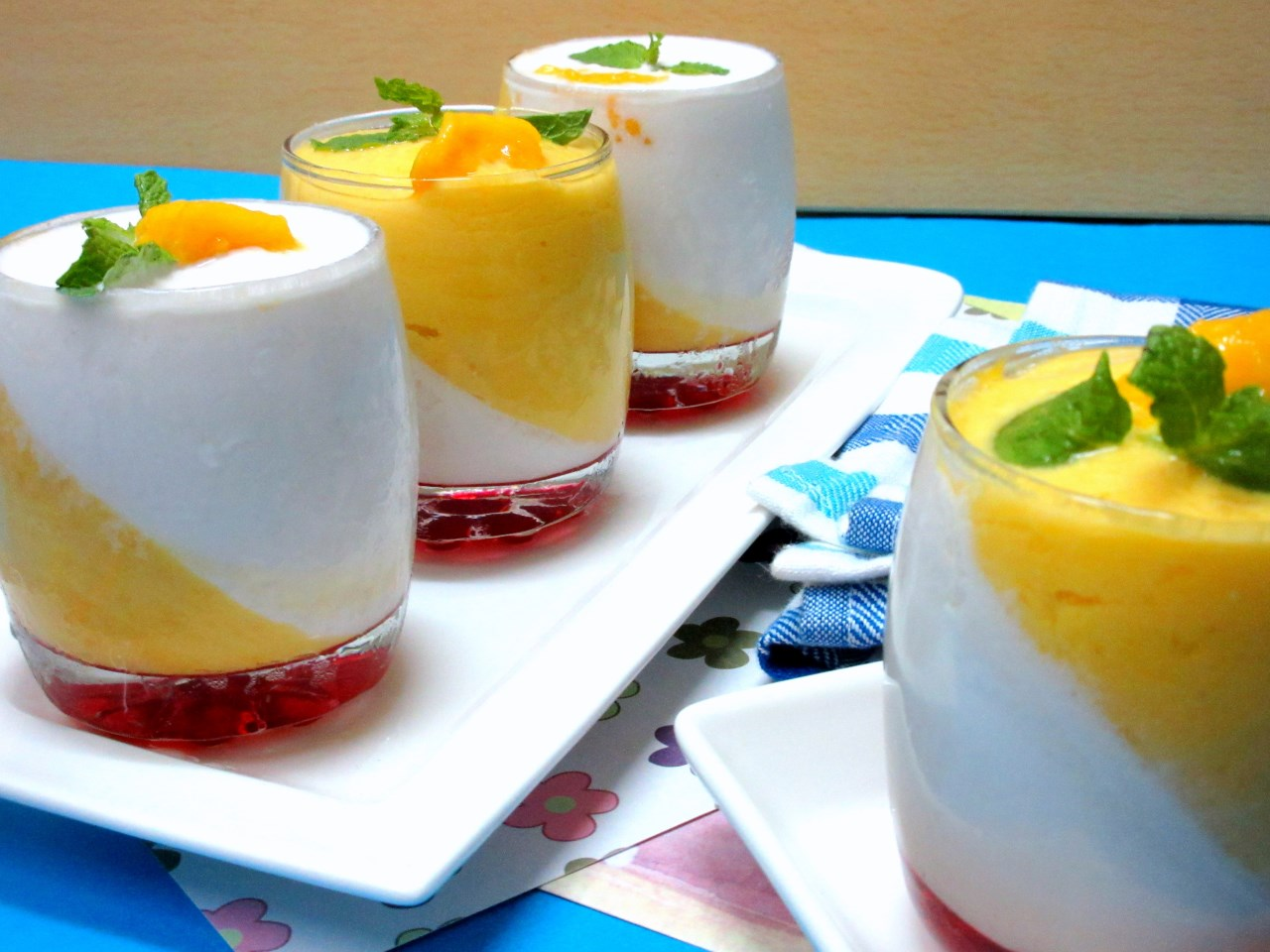Mango and coconut panna cotta how to make panna cotta with agar agar - Panna cotta agar agar thermomix ...