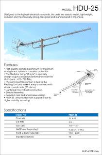 antena televisi HD-U25