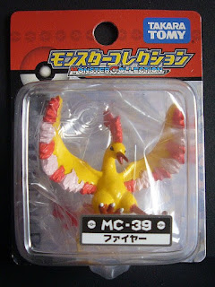 Moltres  new pose renewal figure Takara Tomy Monster  Collection MC series