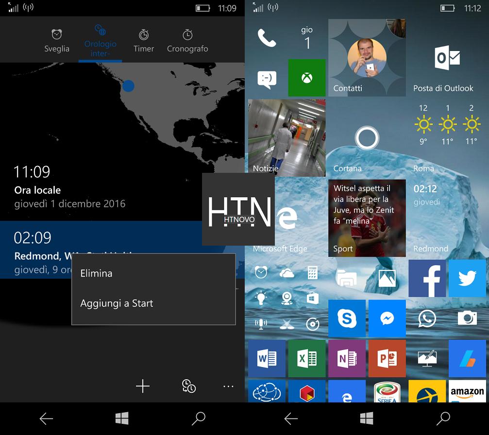 Come impostare più orologi con diversi fusi orari in Windows 10 9 HTNovo