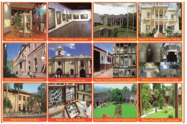 Principales Museos de Honduras