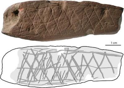 Σκαλίσματα ή τέχνη τα σχέδια σε πανάρχαιες πέτρες;