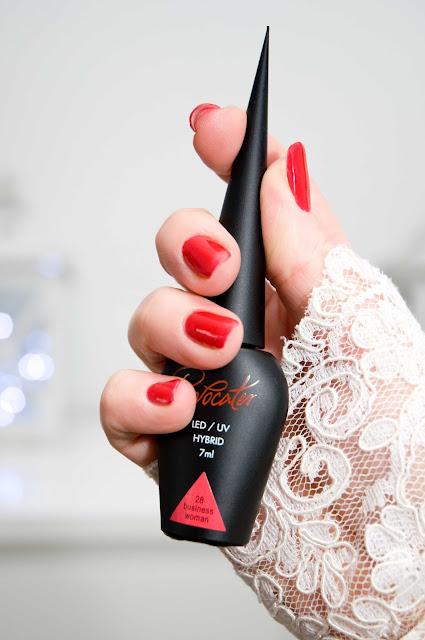 Provocater 28 Business Woman - klasyczna czerwień na paznokciach