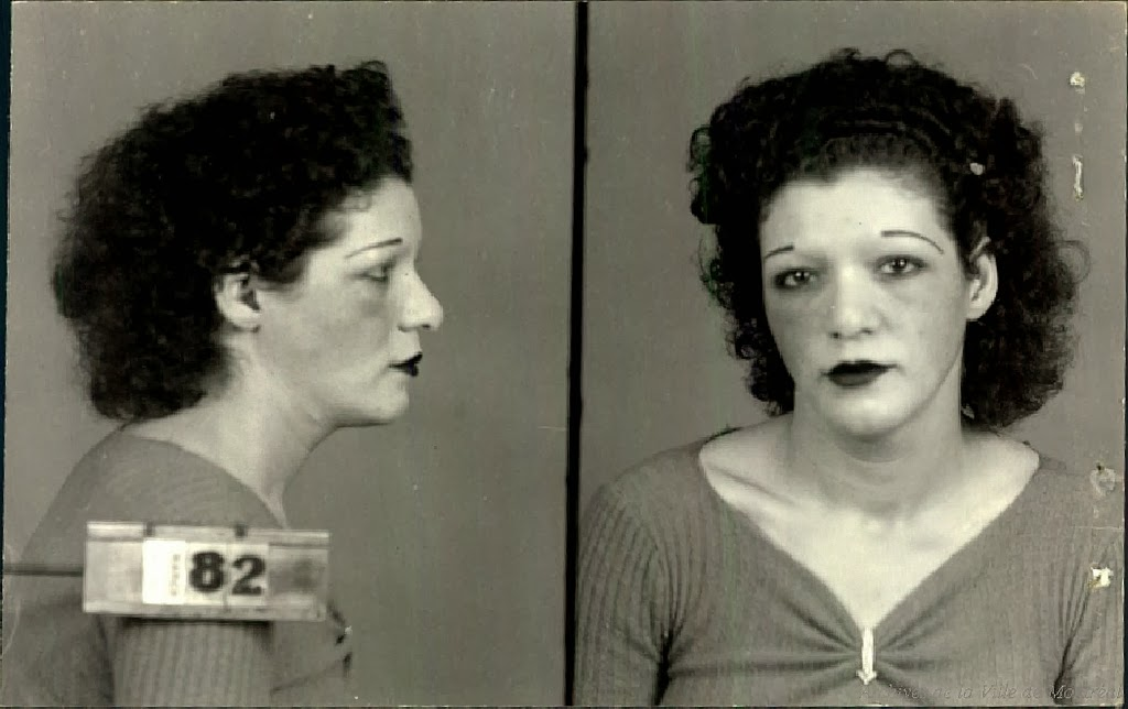 Mugshots of montreal prostitutes and madams