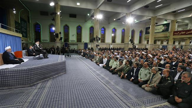 Muslims obliged to fight against Israel : Leader of the Islamic Revolution Ayatollah Seyyed Ali Khamenei