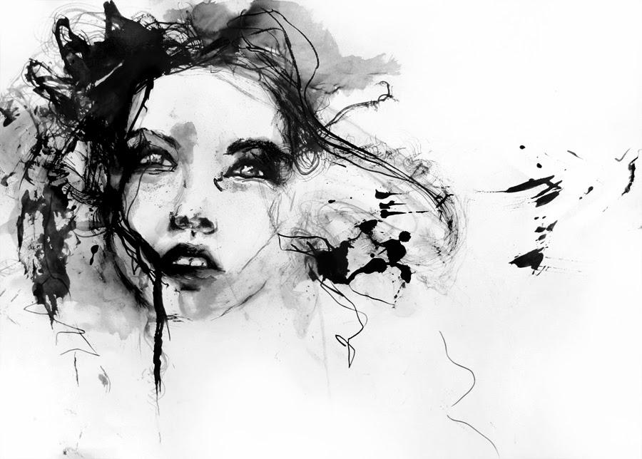 Eu Vou Destruir - Agnes-Cécile e suas principais pinturas ~ aquarela