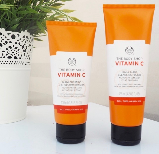 vitamin C body shop review