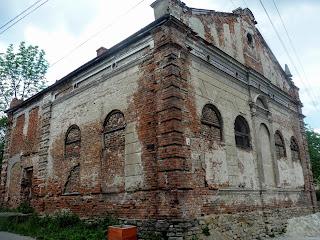 Старий Самбір. Львівська обл. Синагога 1862 р.
