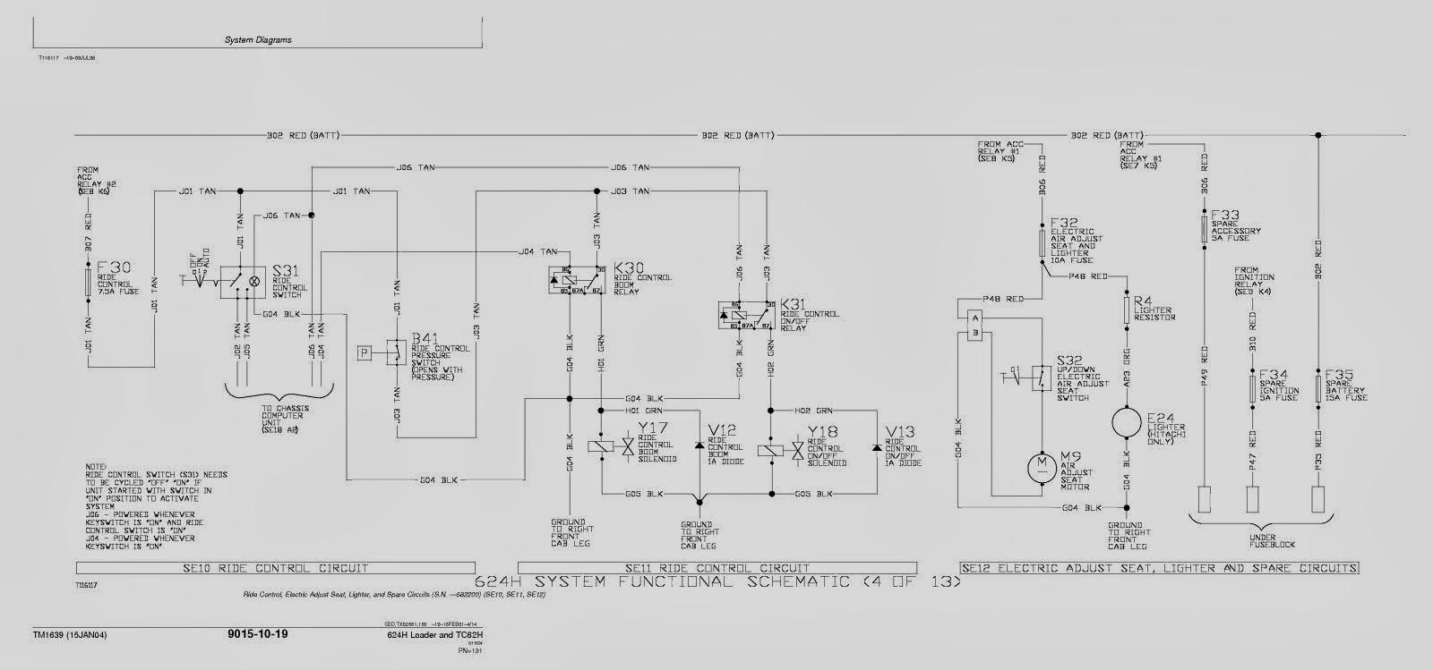 Free owner, service and workshop manual: John Deere 624H