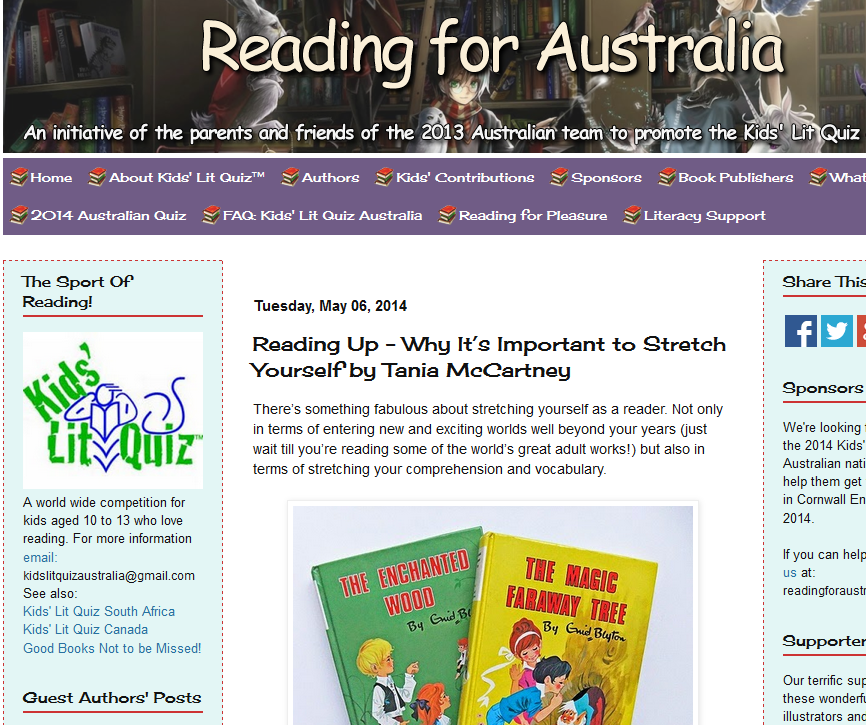 http://readingforaustralia.blogspot.com.au/2014/05/reading-up-why-its-important-to-stretch_6.html#more